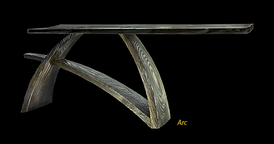 artful furniture, sculpture console tables, custom dining tables in los angeles, contemporary dining tables, pedestal dining tables, dining room tables, custom made dining tables, breakfast table, hall tables, foyer tables, entry tables, console tables,art furniture