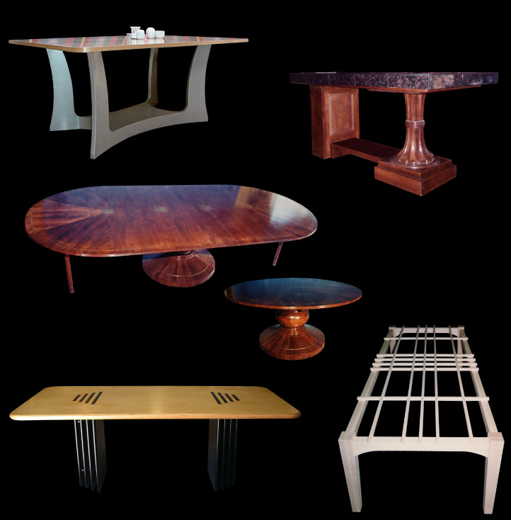 Custom Made Dining Tables, Hall Tables, Sofa Tables, Side Tables