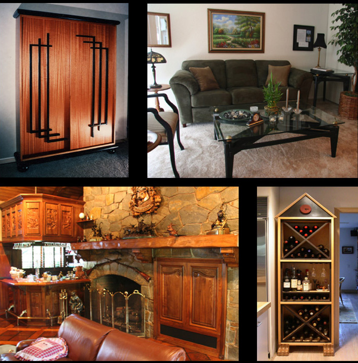 Visions Inspire Personal Expressions in Fine Custom Made Furniture
